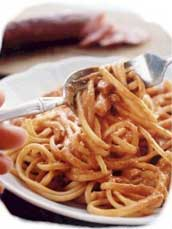 spaghetti -traditional Italian food